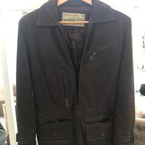 Vintage Authentic Leather GUESS Jacket